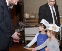Rabbi Mirvis visit