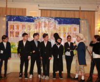 Grade 5 Presidents' Day Play