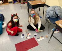 Tie-Dye Mask Making in Celebration of Purim!